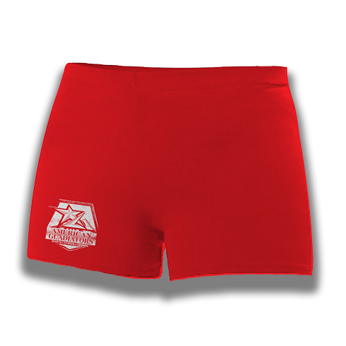 Womens Red Shorts